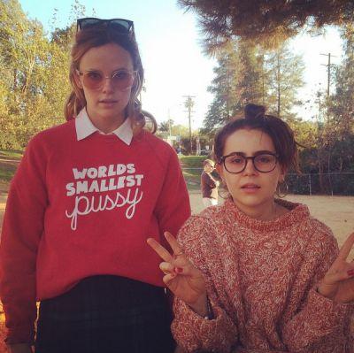 Sarah Ramos + Mae Whitman