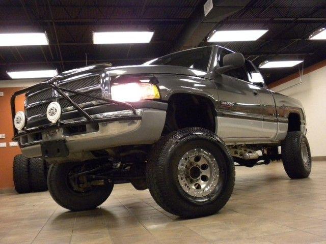 Black Lifted Dodge Ram 2500 truck