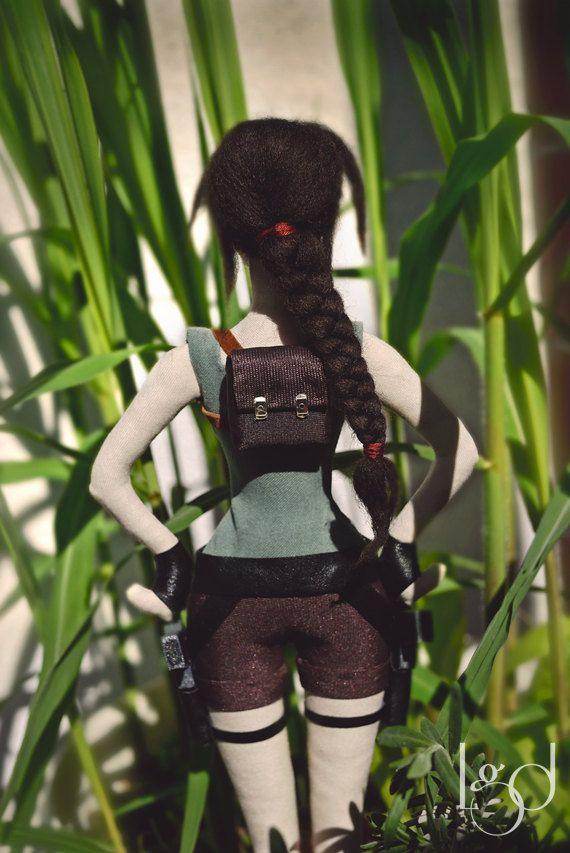#tombraider #laracroft https://www.etsy.com/listing/236956761/tomb-raider-lara-croft-rag-doll?ref=shop_home_active_6