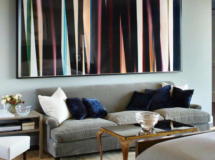 7 Striking Modern Sofas In Interiors By Dan Fink Studio | Patterned Sofa. Living Room Ideas. #modernsofas #patternedsofa #interiordesign Read more: http://modernsofas.eu/2016/12/15/striking-modern-sofas-interiors-dan-fink-studio/