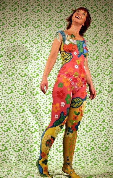 How to body painting body paint tutorial body art girl - 3 9
