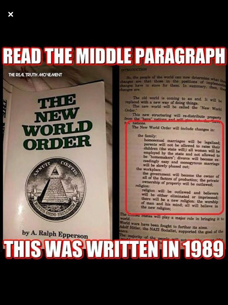 illuminati and new world order history essay World war iii is to be fomented by using the so-called controversies, the agents of the illuminati operating under whatever new name, as are now being stored up between the political zionists and the leaders of the moslem world.