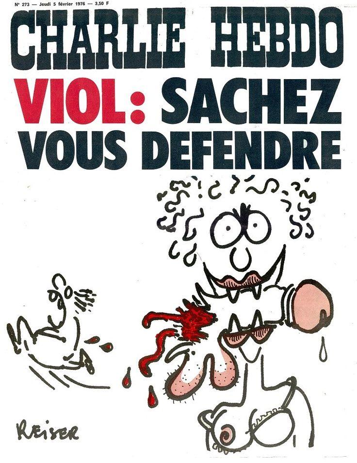 Charlie Hebdo - # 273 - 5 Février 1976 - Couverture : Reiser