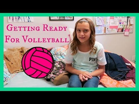 GETTING READY FOR VOLLEYBALL ~ Karli Reese