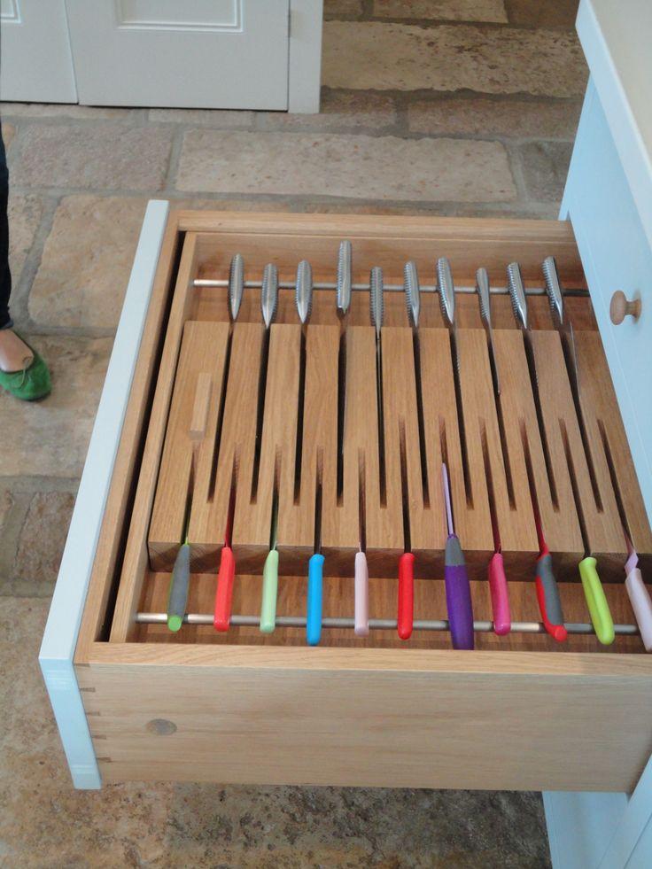 Orderly #knife #drawer
