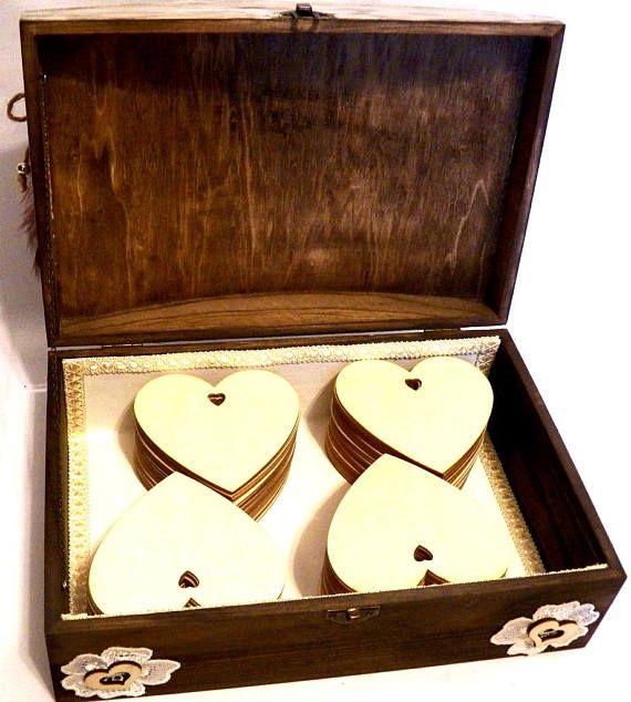 Rustic Wedding Card Box Large Wedding Box Wedding Card