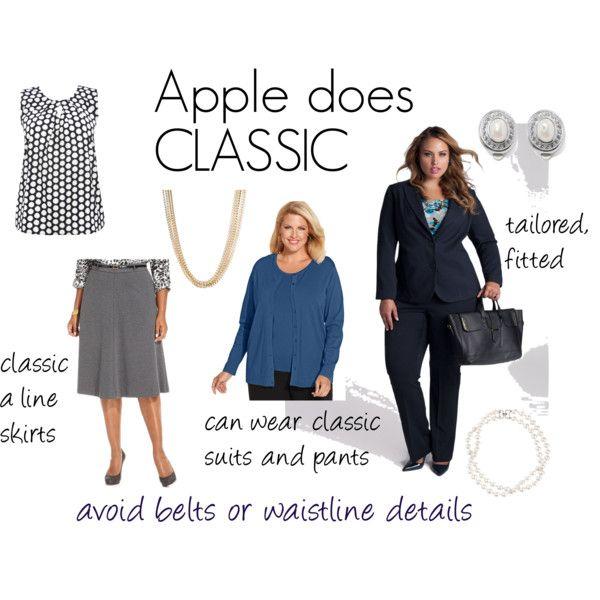 Dress style apple shape risk