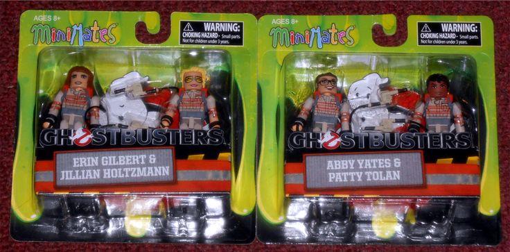 Clearance Toys 'R Us:  MiniMates - Ghostbusters Erin Gilbert & Jillian Holtzmann Abby Yates & Patty Tolan
