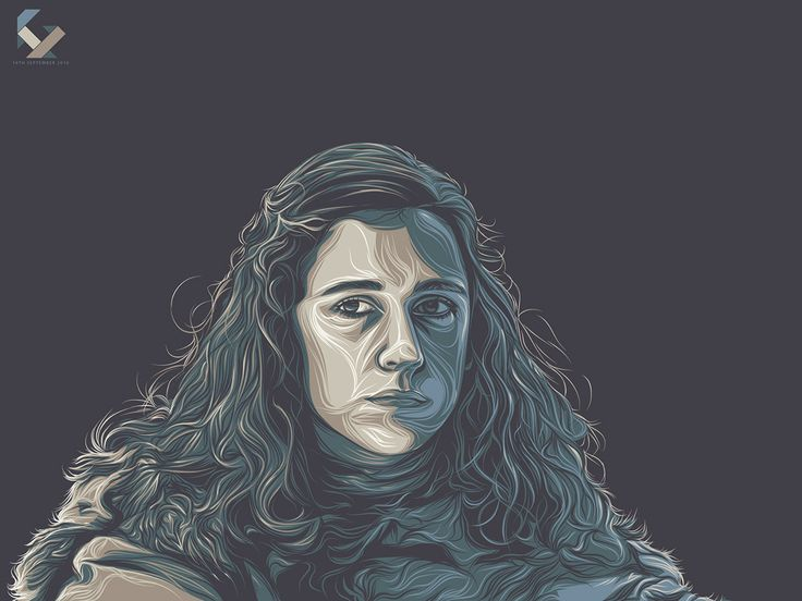 Game of Thrones (GOT) example #117: Game of Thrones Art Tribute on Behance