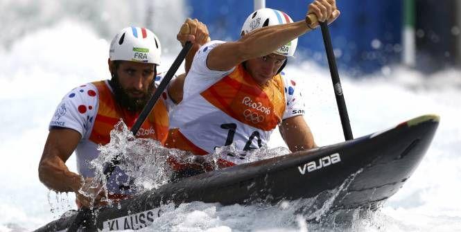 Canoë-kayak - JO 2016 - Rio - Gauthier Klauss et Mathieu Péché sont qualifiés. (IVAN ALVARADO/Reuters)