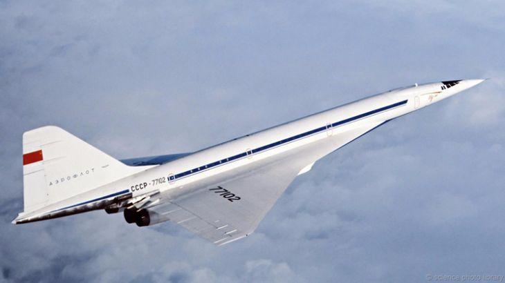 Ту-144: икра и сверхзвук