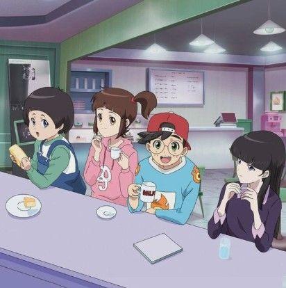 pin oleh *nai anime* di shinbi's house | animasi, gambar