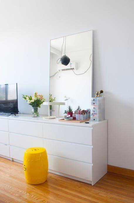 die besten 25 malm frisiertisch ideen auf pinterest ikea schminktisch malm ikea malm. Black Bedroom Furniture Sets. Home Design Ideas