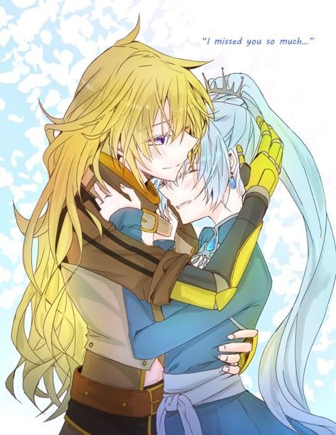 One of the sweetest moments of volume 5 so far was when Weiss and Yang got re-united after she got caught