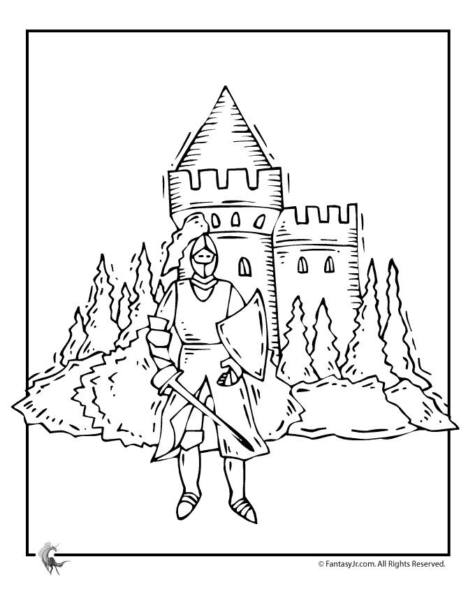 find this pin and more on coloring pages for kids d by stephie_driver knight castle