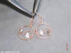 Ohrringe Yin-Yang - Bild vergrößern
