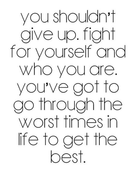 Please don't give up. If you ever feel alone and feel like No one cares. I do. If you need to talk kik me savvymonkeez94 I love you darling
