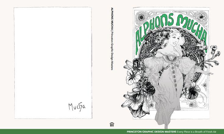 Book Jacket Final Draft: 3 of 3 (Alphons Mucha)
