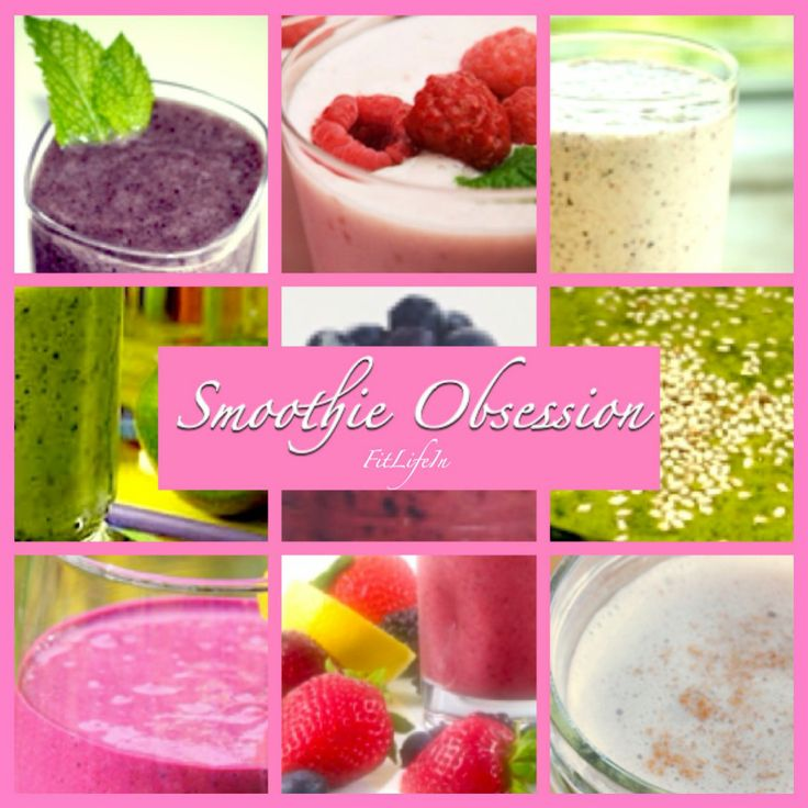 Smoothie Obsession! - Check out these delicious healthy smoothies!! - Eat Well Series by fitlifein.ca #smoothieobsession
