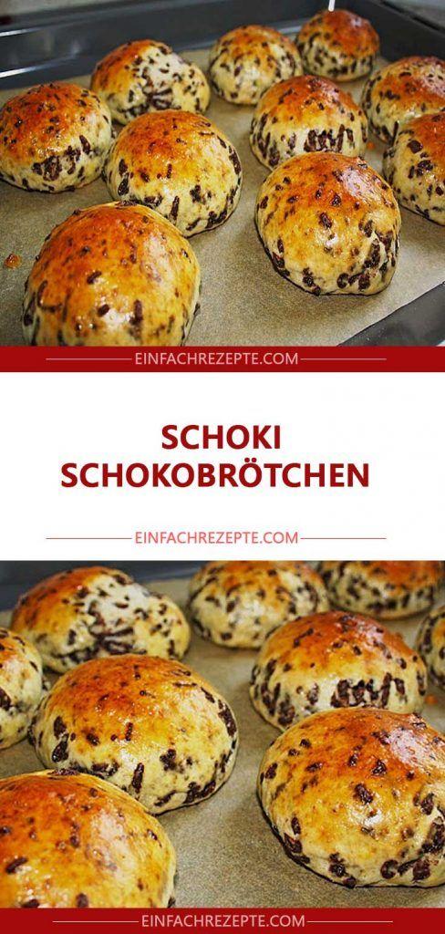 Schoki Schokobrötchen