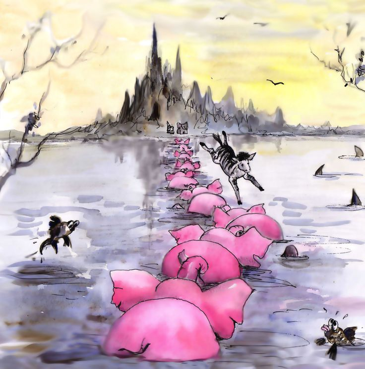 When the elephants were pink 10