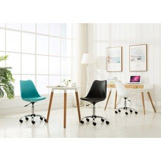 Shop for Porthos Home Teresa Adjustable Office Chair. Get free shipping at Overstock.com - Your Online Furniture Outlet Store! Get 5% in rewards with Club O! - 23103452
