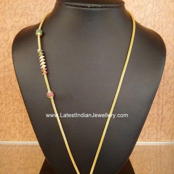 Thali Chains with cz Mogappu