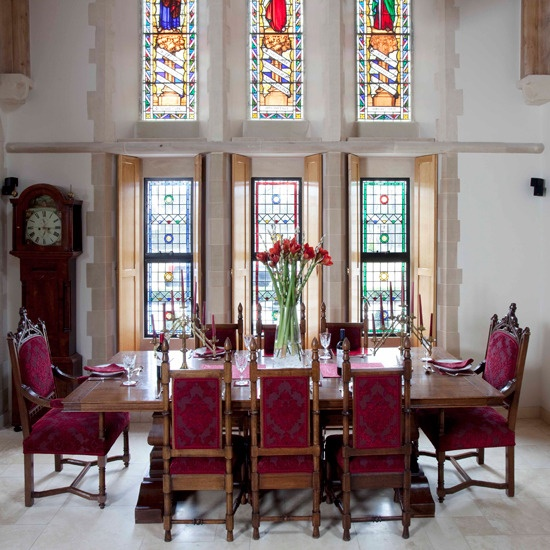 52 best church conversions images on pinterest for Dining room conversion ideas