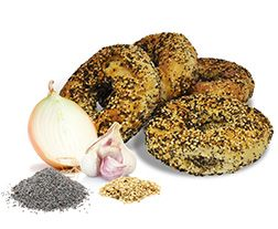 All Dressed Bagel - this is what I'm talking about!