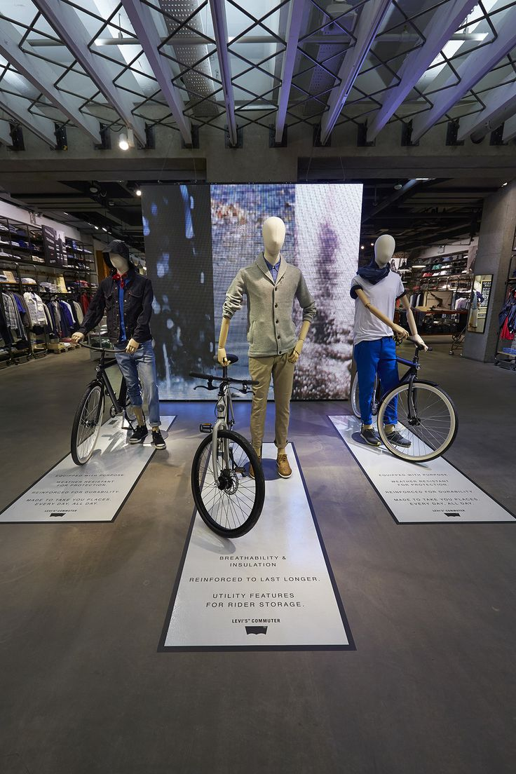 """Levi's Commuter"",at Regent Street, London,UK by Lucky Fox, pinned by Ton van der Veer"