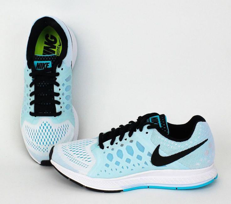Nike Women Zoom Pegasus 31 White, Black-Clearwater, Antarctica 654486-105 #Nike #RunningCrossTraining
