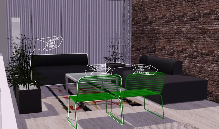 Gallery Loft Set Click Here to Download Set Includes Living Chairs|| Gallery Loft Sofa Gallery Loft Ottoman Gallery Loft Chair Coffee Table|| Gallery Loft Glass Table Gallery Loft...