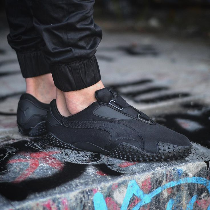 Puma Mostro OG: Black | All black sneakers, Clothes design ...