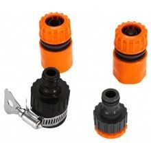 4 in 1 Water Pipe Daye Connector Universal Joint | Car Washing Gun Nozzle Adapter