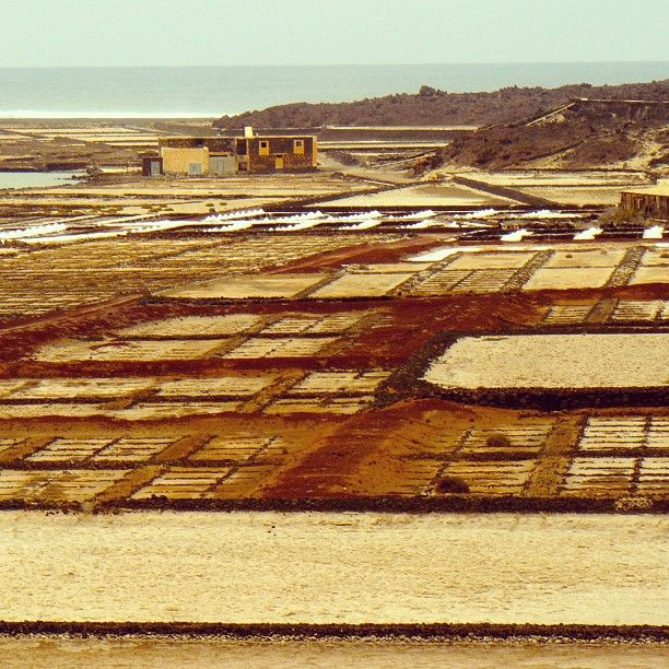Salt pans Lanzarote. Salt pans Lanzarote. The peculiar volcanic lands of Lanzarote invite you also the islands tranquillity and saturninity��_