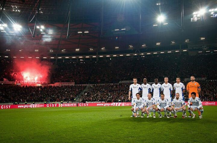 FCK fans representing in Hamburg.