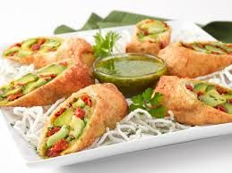 Image result for cheesecake factory avocado rolls