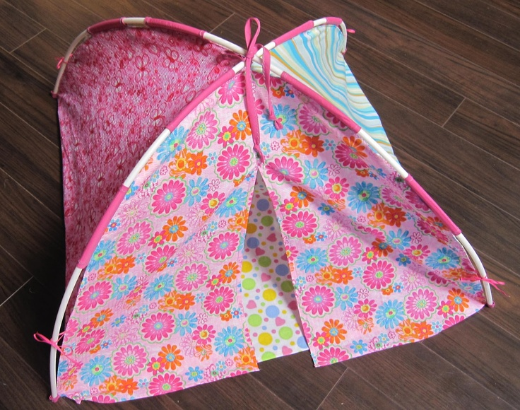 Our American Dolls: A doll tent