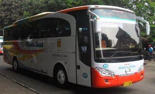 rute dan tarif bus rosalia indah