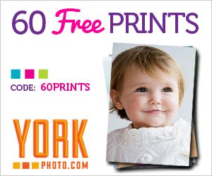 60 Free 4×6 Photo Prints (just pay shipping) (My shipping was under four dollars.  Shipping is based on where they have to ship.)