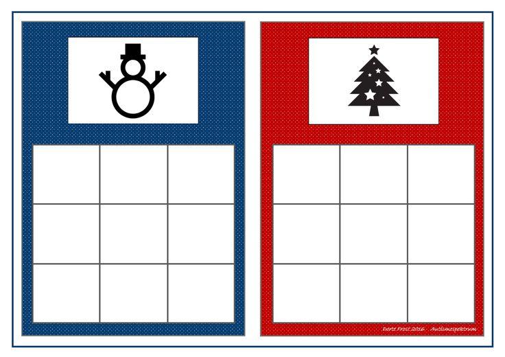 Board for the farm winter sorting game. Find the belonging tiles on Autismespektrum on Pinterest. By Autismespektrum.