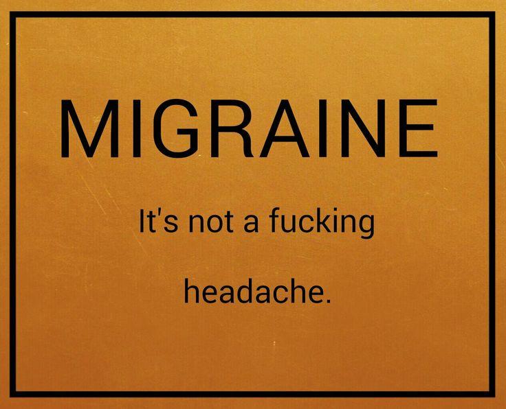 Migraine Go Away Quotes: 17 Best Migraine Quotes On Pinterest