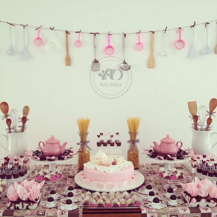 10 ideias criativas para chá de cozinha - Madrinhas de casamento