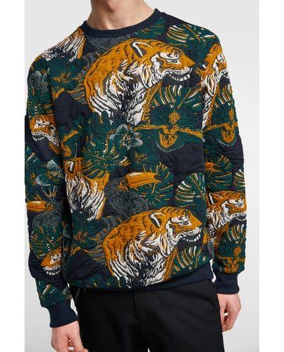 1ed67bad40c3b Image 4 of ANIMAL JACQUARD SWEATSHIRT from Zara   Sweatshirts ...