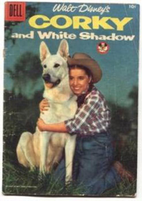 Corky and White Shadow cover, Disney movie 1956