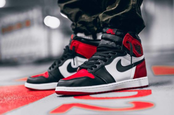 newest 352b7 90b69 Air Jordan 1 Retro High OG Bred Toe Releasing Next Weekend