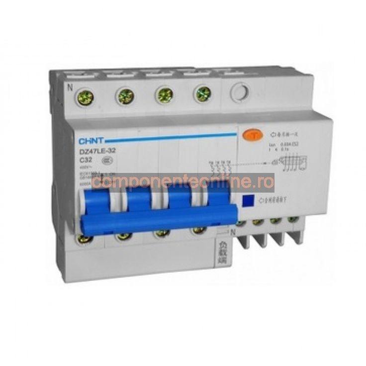 Bloc sigurante automate, trifazic, 32A, DZ47LE-32 - 111935