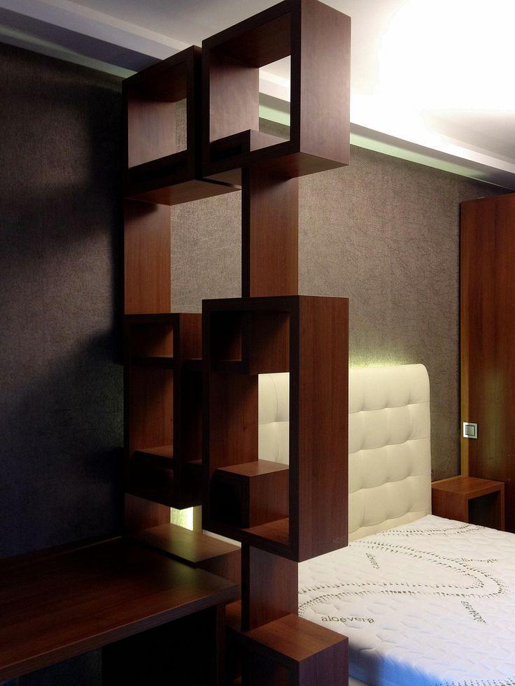 room divider in bedroom  www.novoq.eu