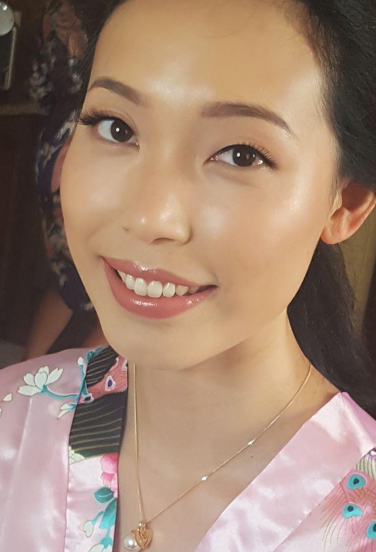 glow makeup , wedding makeup