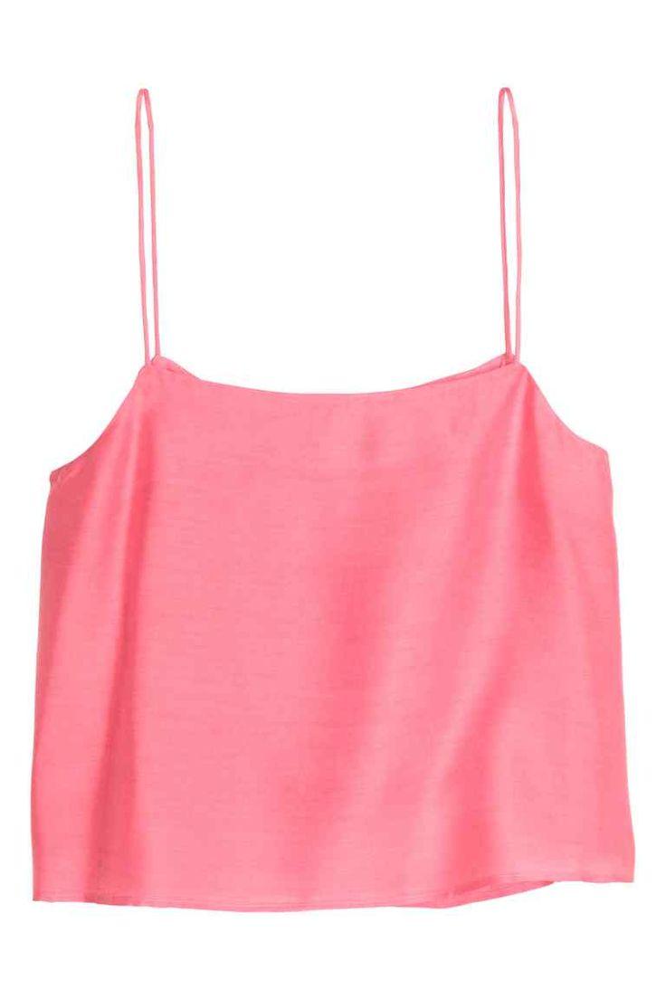 Tílko - Růžová - ŽENY   H&M CZ 1